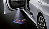 BMW Diapositives d'origine, pour projecteurs de porte, montrent un logo M