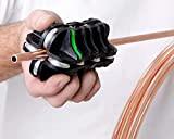 Kwix Brado Redresseur tube pour acier, aluminium, conduites de frein en cuivre et tubes en bobine