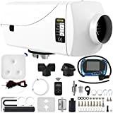 Mophorn Chauffage Diesel 12V 2KW Réchauffeur d'air diesel kit de réchauffeur d'air PLAN Bleu en aluminium carburateur en plastique pour ...