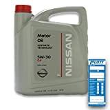 Original nissan 5W30 huile moteur 5W30 dPF, 5 l