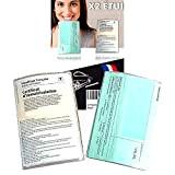 Pochette Carte Grise et Assurance x2 Transparent (FABRICATION FRANCAISE) 2x Étui Protege Carte grise et Assurance pour Documents Voiture Moto ...
