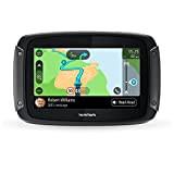 TomTom GPS Moto RIDER 500 - 4,3 pouces Cartographie Europe 49, Traffic, Zones de Danger, Appel Mains-Libres, Compatible Siri et ...