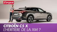 Citroën C5 X (2021). La nouvelle berline aux Chevrons dans le détail