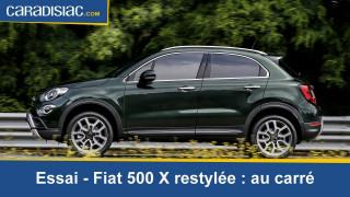 Essai Fiat 500X 2018: au carré
