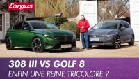 Peugeot 308 (2021) vs Golf 8. Premier duel statique !