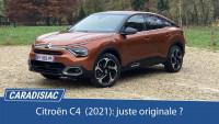 Essai - Citroën C4 (2021) : juste originale ?