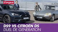 La DS9 face à la Citroën DS21 Pallas