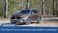 Fiat Tipo Cross (2021) : le crossover abordable et pratique
