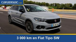 Essai longue durée - 3000 km en Fiat Tipo SW : un bon outil