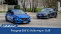 Comparatif - Peugeot 308 VS Volkswagen Golf : objectif européen